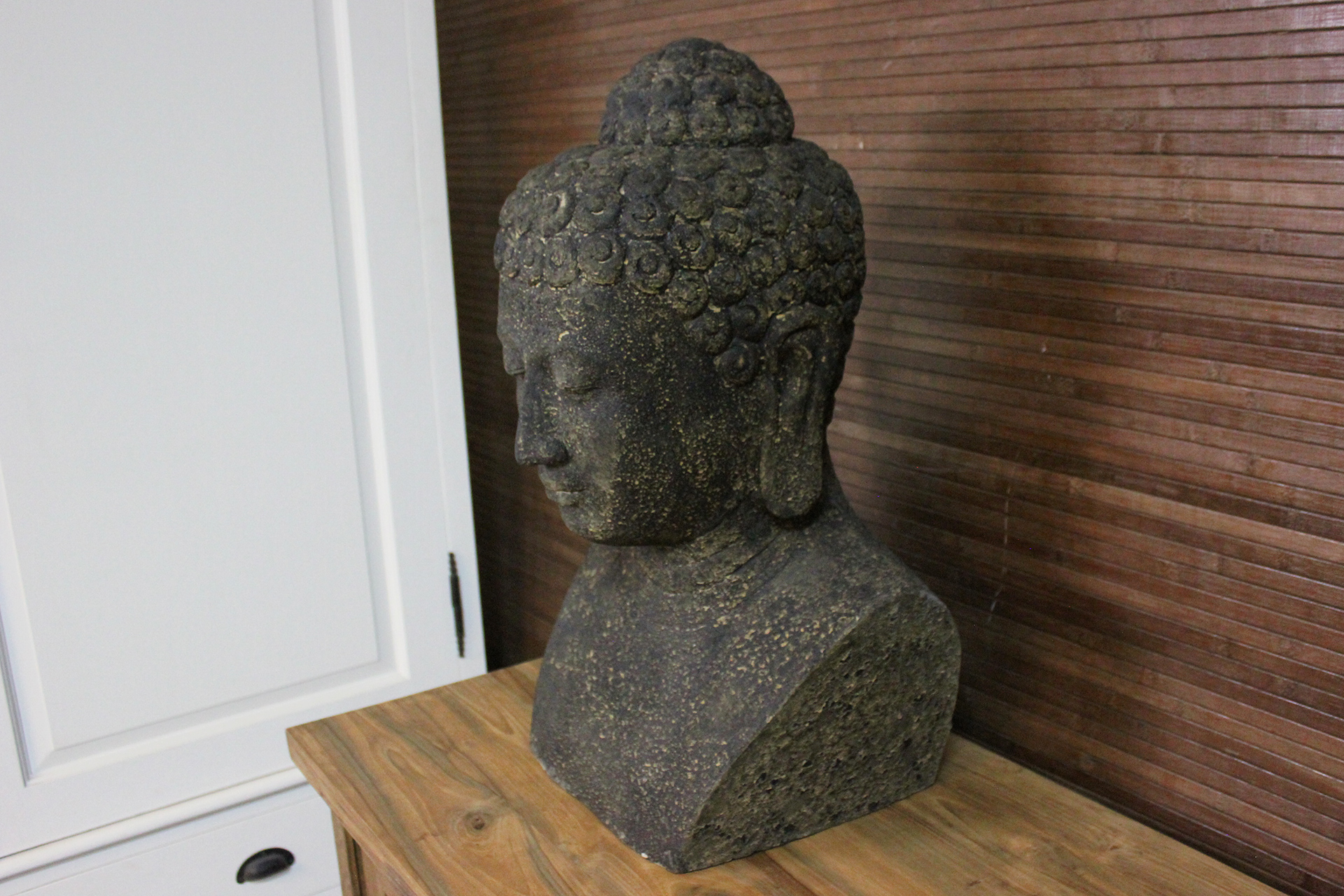 Budha Tubuh | special, Buddha statue from Indonesia. Terracotta Buddha statue with an exclusive look. Buddha Torso - TEAK2.